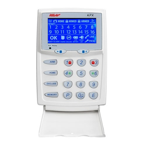 NESS KPX LCD KEYPAD for Ness Alarm System 106-016