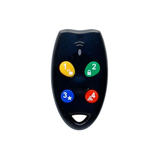 NESS Alarm System Remote Control RK4 Numberic Radio Key