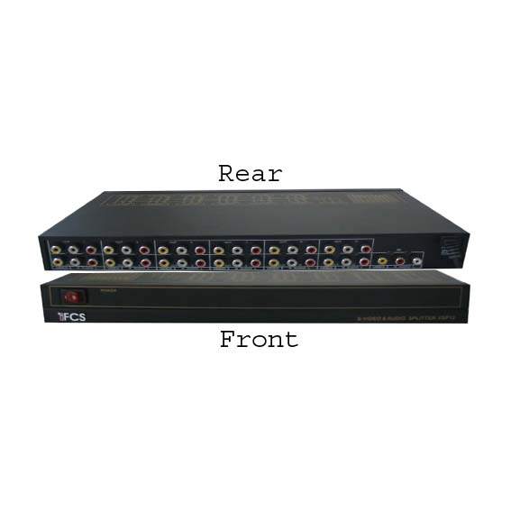 12 CH Audio/Video Distributor