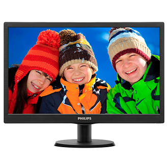 "Philips 21.5"" Full HD LCD monitor with SmartControl Lite"