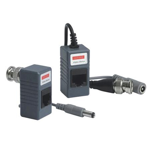 Video Balun with Power- One Pair