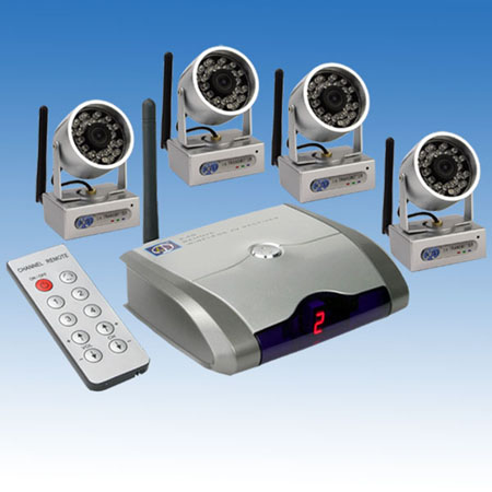 Yaha R420 Wireless Receiver and 812C Wireless camera - Click Image to Close