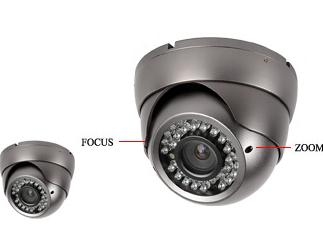 "YAHA-D7709IRV, 1/3"" Sony 700 TVL ,4-9mm Varifocal Vandal proof"