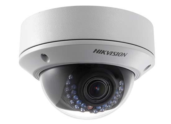 Hikvision 4MP WDR Vari-focal Dome IP Camera 2.8~12 DS-2CD2742FWD
