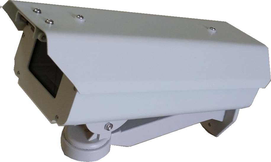 "CCTV Outdoor lockable Camera Housing , 12"" Aluminum Weatherproof"