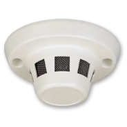 Mini colour covert camera concealed in a dummy smoke detector