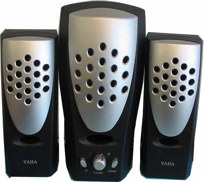 Yaha 2.1Ch Multimedia Subwoofer Speaker PC, MP4,TV, DVD Audio