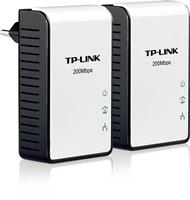 TP-LINK 200Mbps Powerline Ethernet Adapter, HomePlug AV, Twin