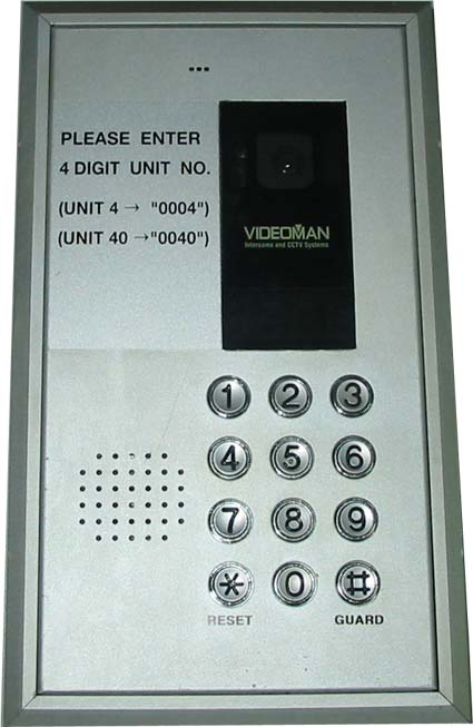 Videoman Intercom TVE-700 Door Entrance Station