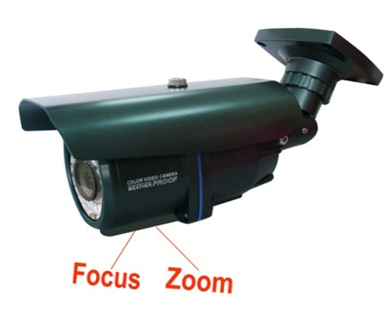 YAHA 1/3 Sony 700TVL 4-9mm Varifocal, Vandal Water Proof outdoor