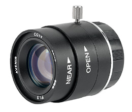 16mm Fixed focal,Manual Iris CS Lens