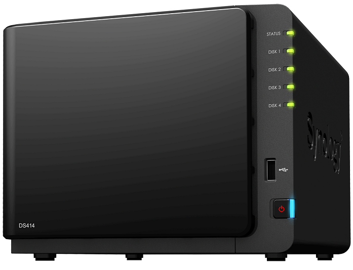 Synology DS414 DiskStation 4-Bay NAS