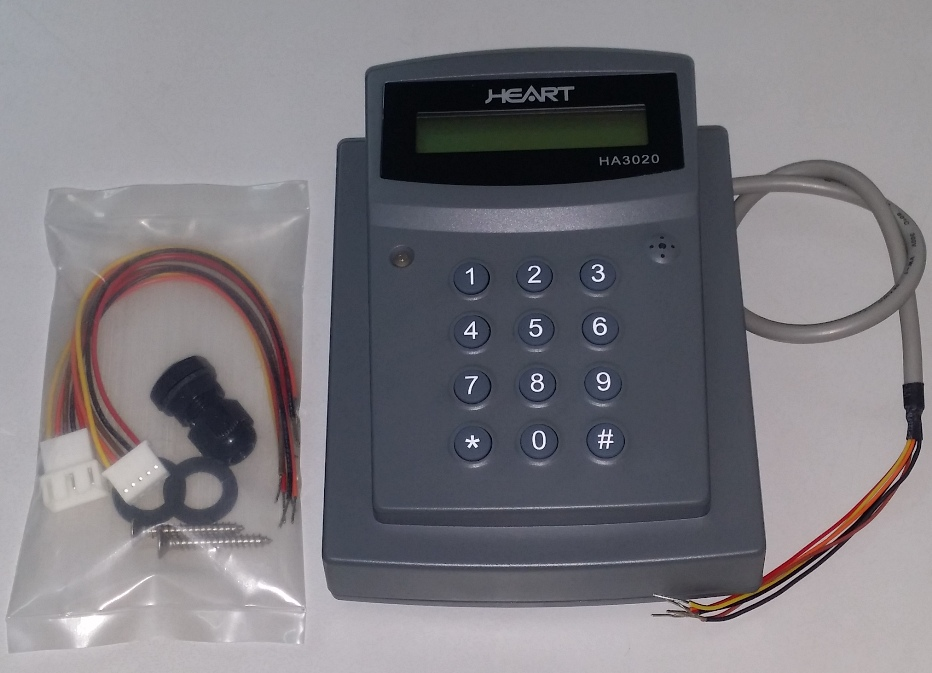 Heart Stand Alone Proximity Access Control System